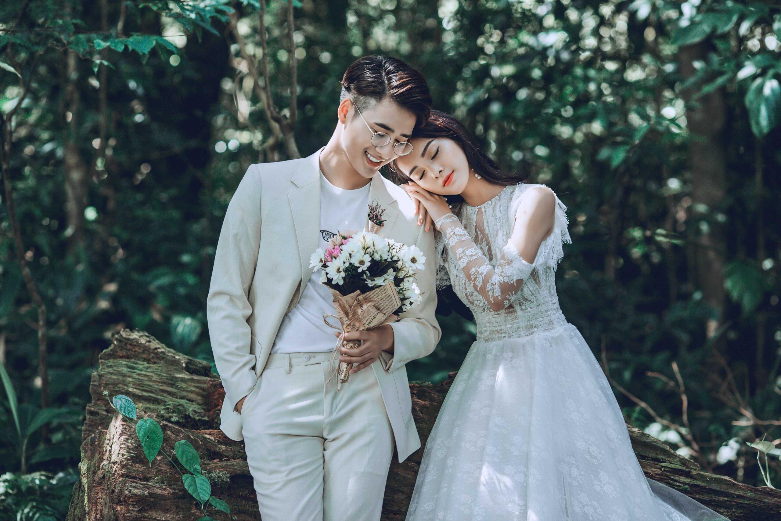 Album ảnh cưới Tam Đảo - Concept tự nhiên