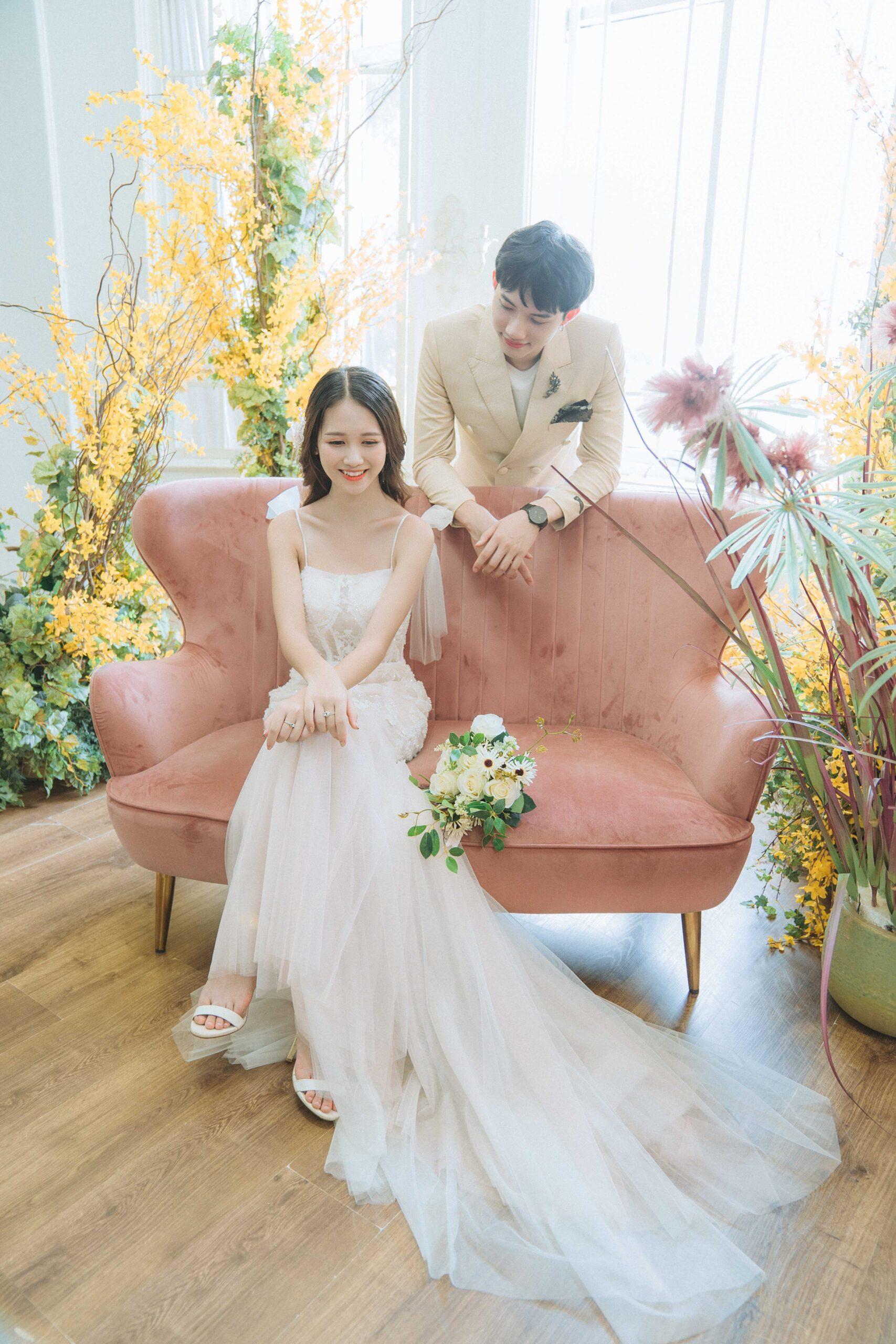Ảnh cưới phim trường Santorini