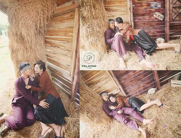 Chụp ảnh cưới phong cách làng quê