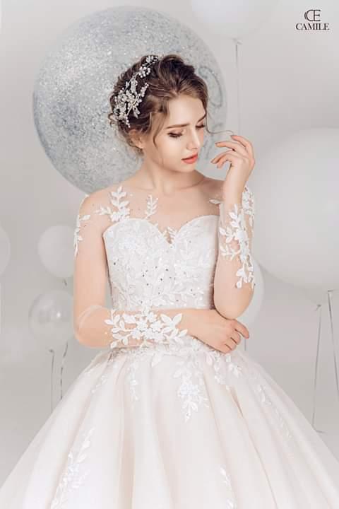 Thiết kế váy cưới cao cấp Camile Bridal