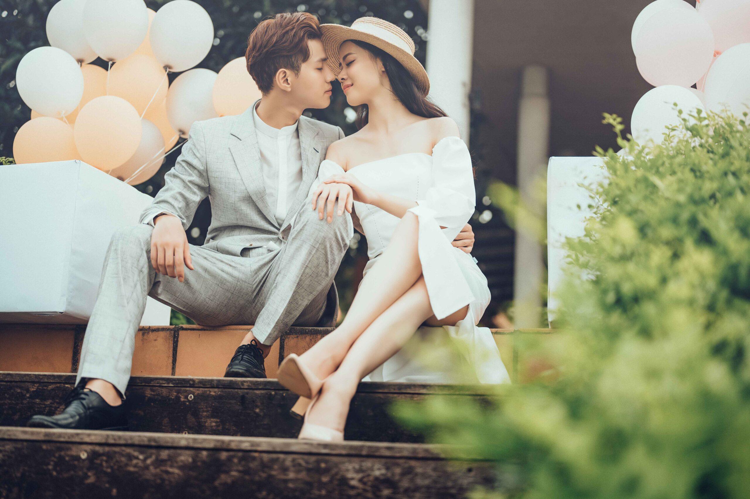 Chụp ảnh cưới công viên Yên Sở