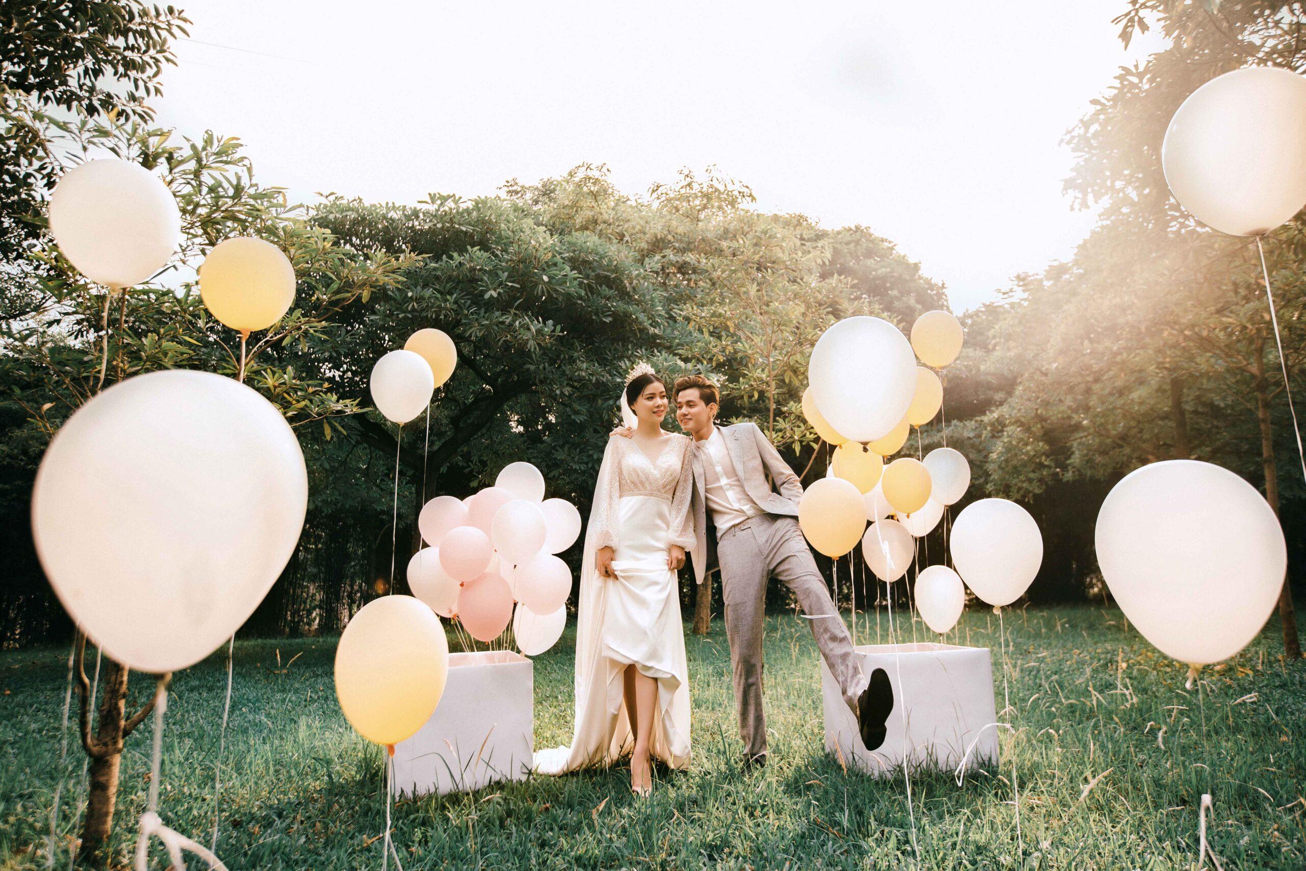 Chụp ảnh cưới công viên Yên Sở - Review chi tiết từ A đến Z