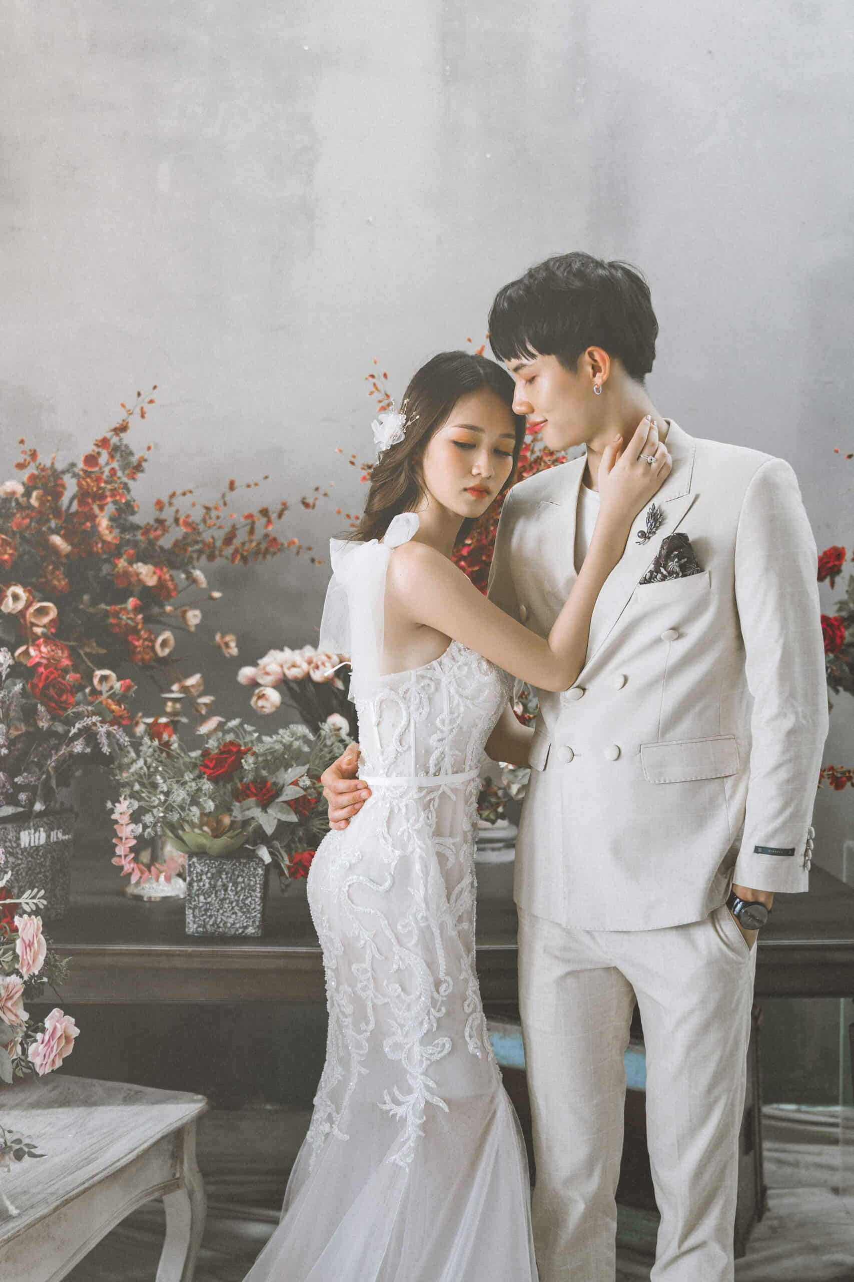 chụp ảnh cưới studio Hà Nội