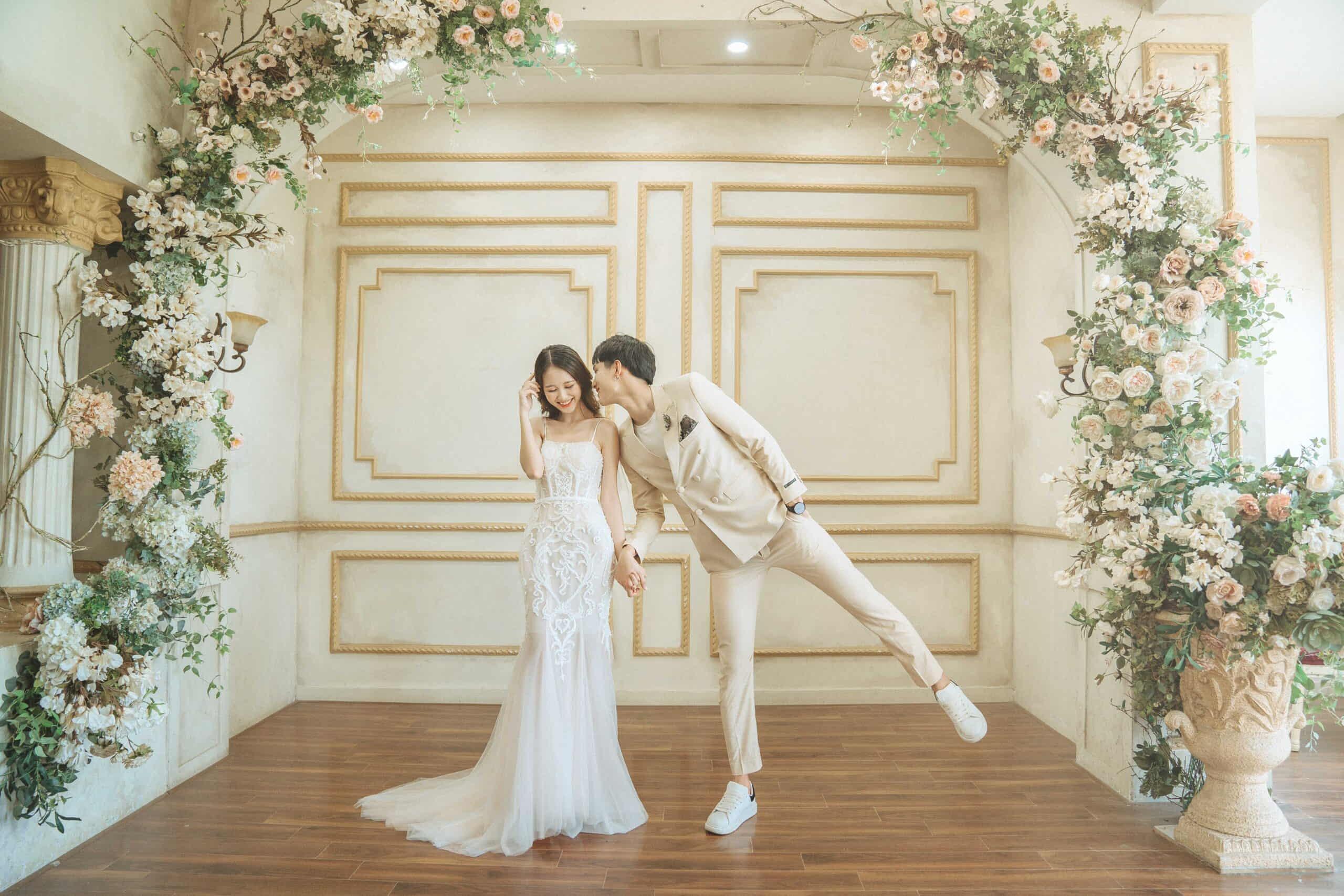 phim trường chụp ảnh cưới tại Hà Nội