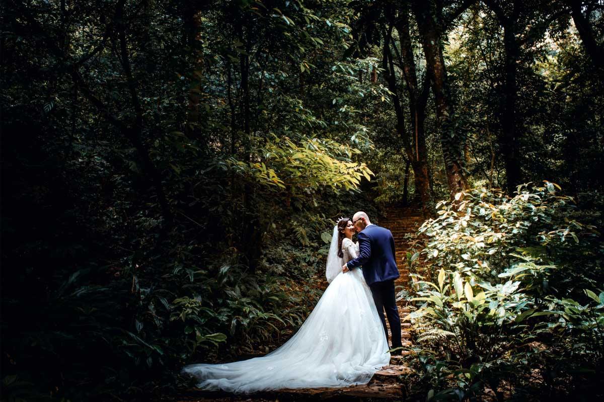 Chụp ảnh cưới tại Ba Vì