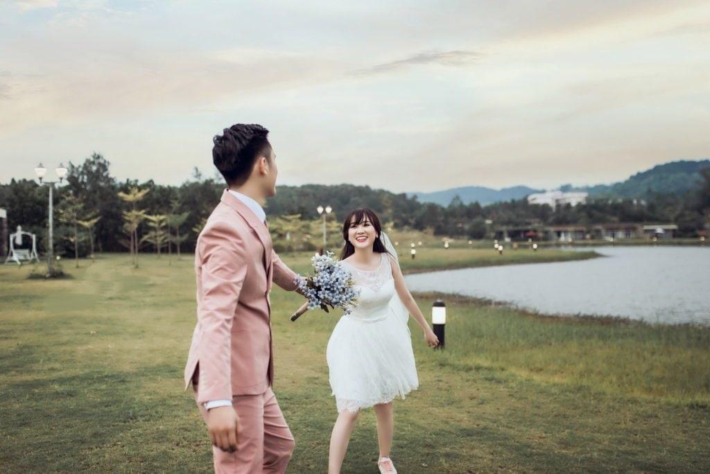 Chụp ảnh cưới Flamingo Đại Lải Resort