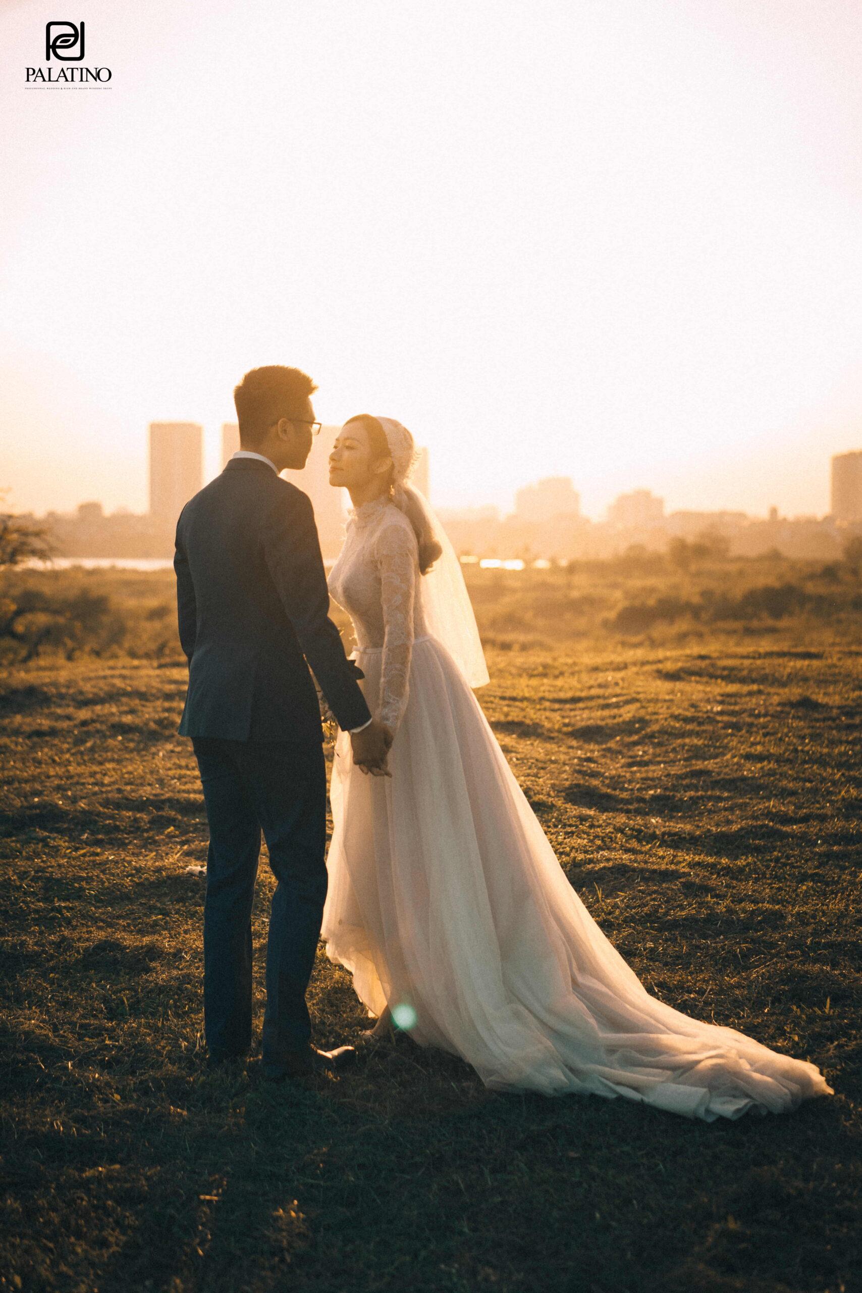 Chụp ảnh cưới tại vườn nhãn Gia Lâm