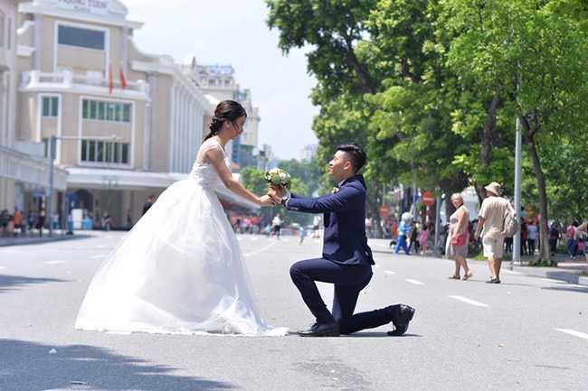 Địa điểm chụp ảnh cưới mùa thu Hà Nội