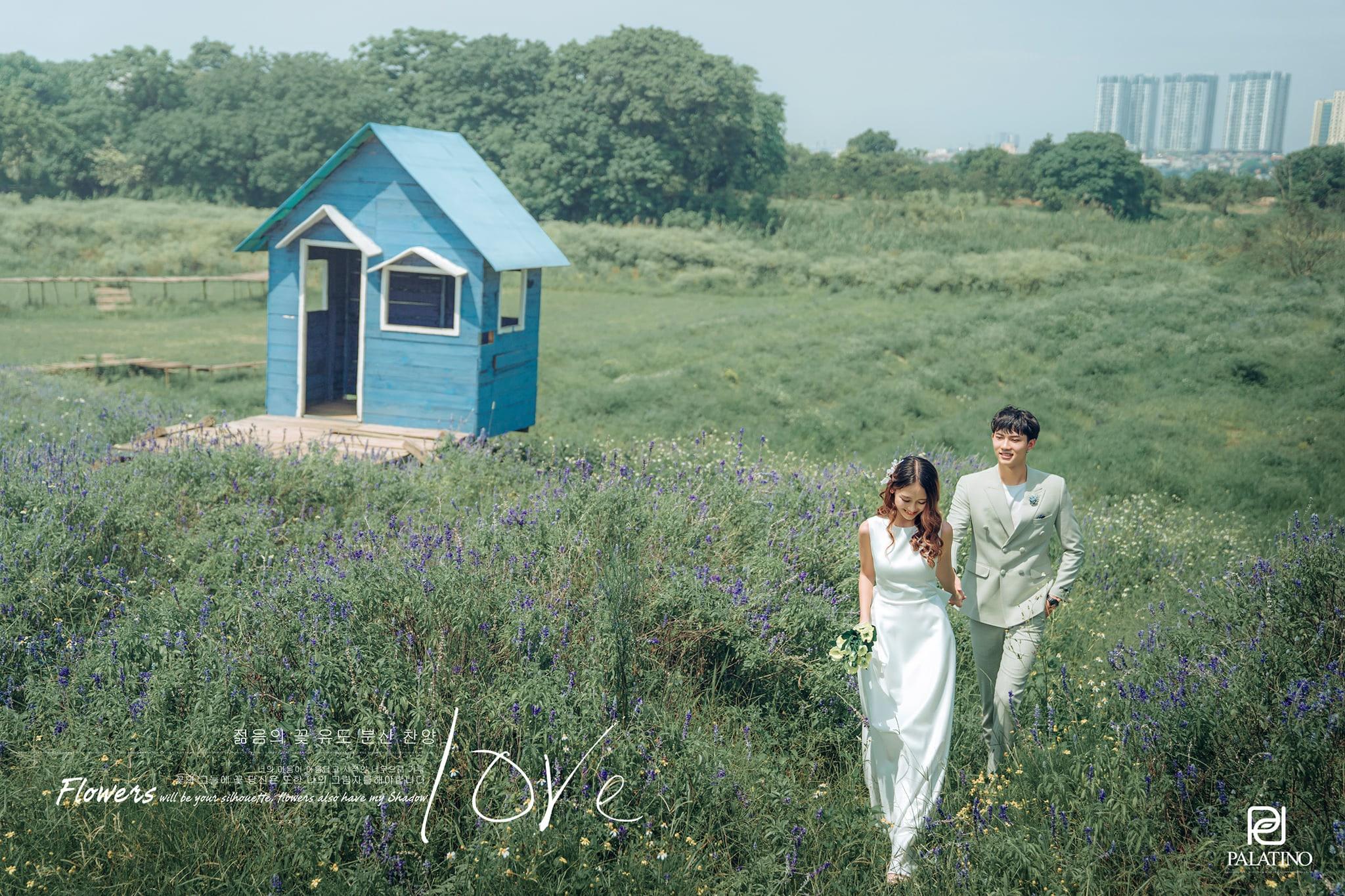 Trang điểm khi chụp ảnh cưới ngoại cảnh