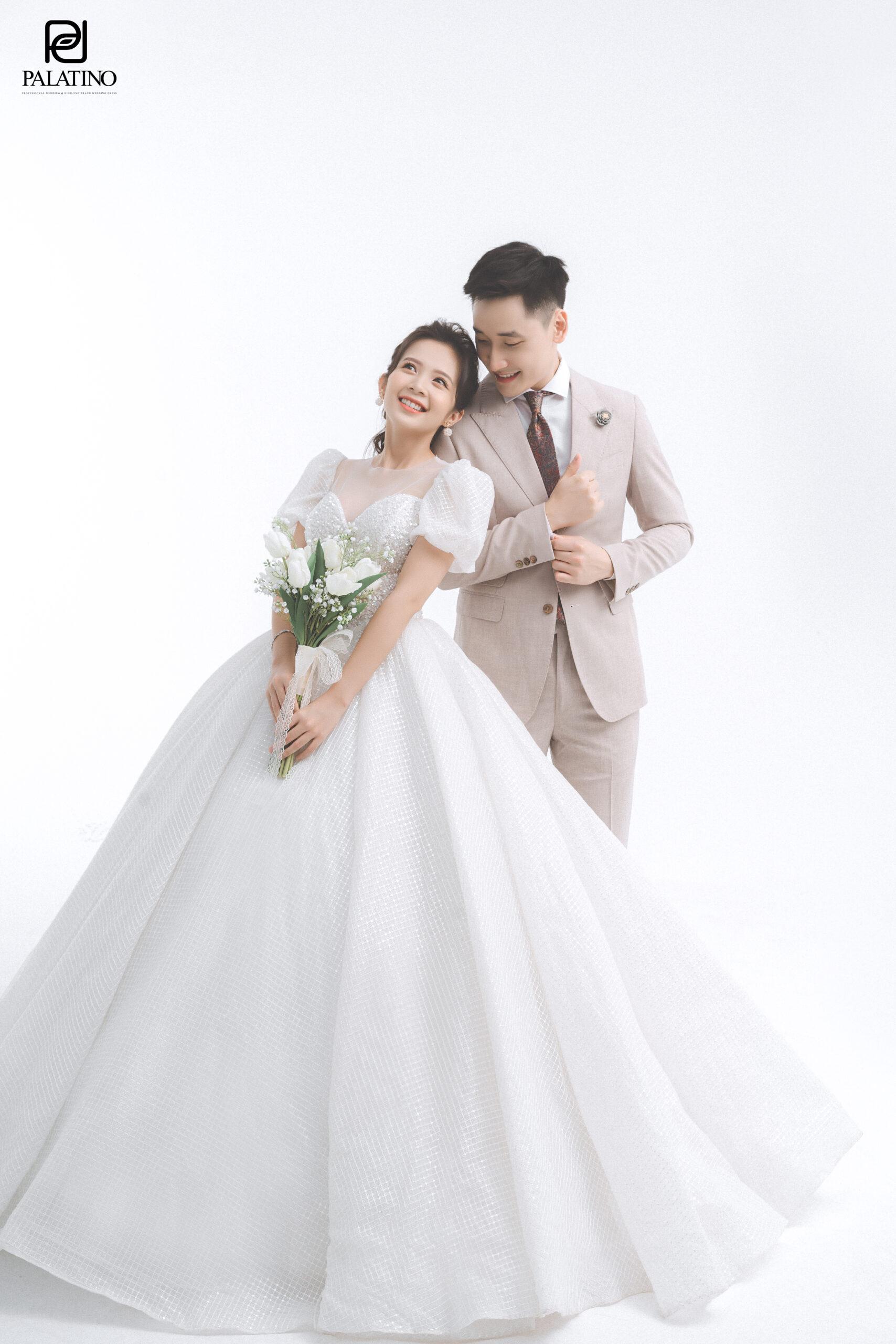 Váy cưới cho cô dâu mập