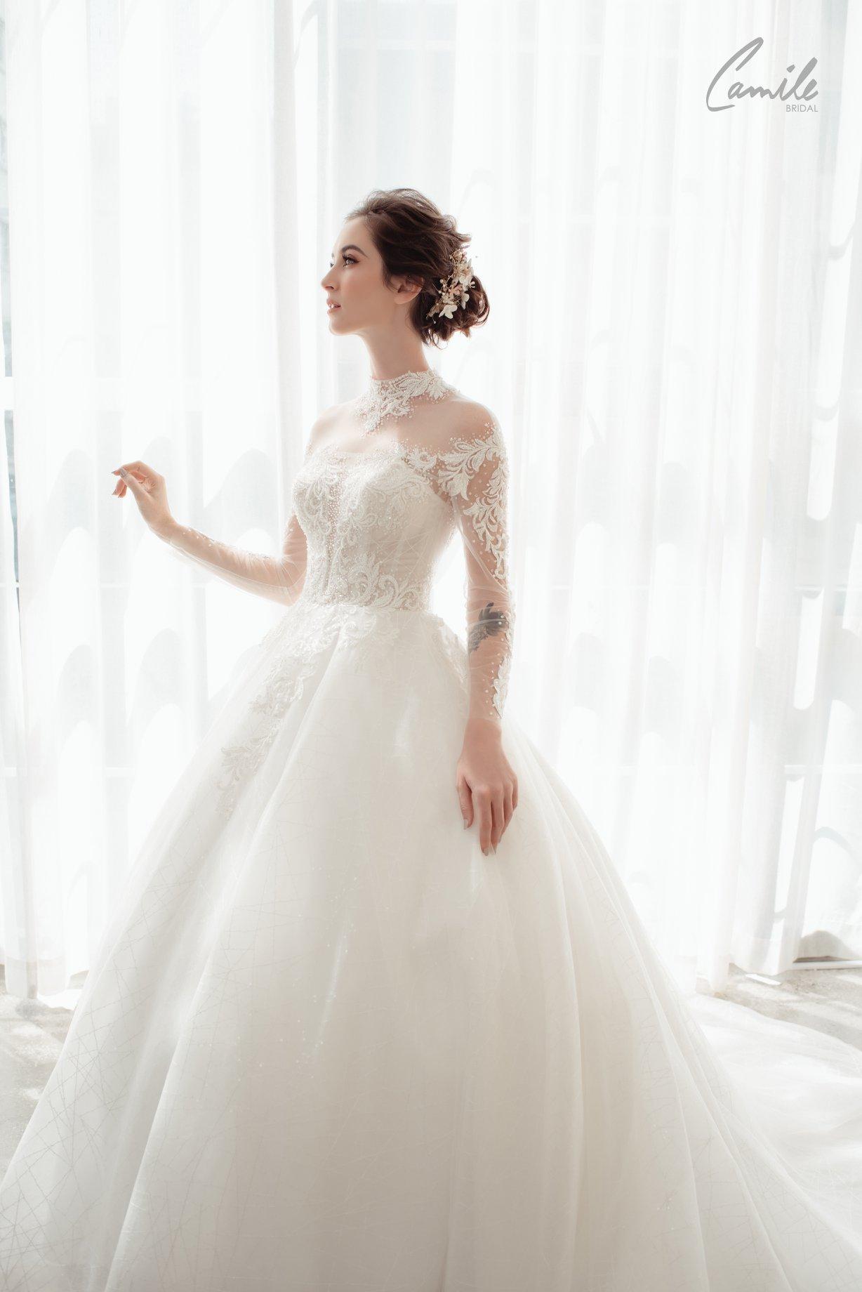 các cửa hàng váy cưới đẹp ở hà nội