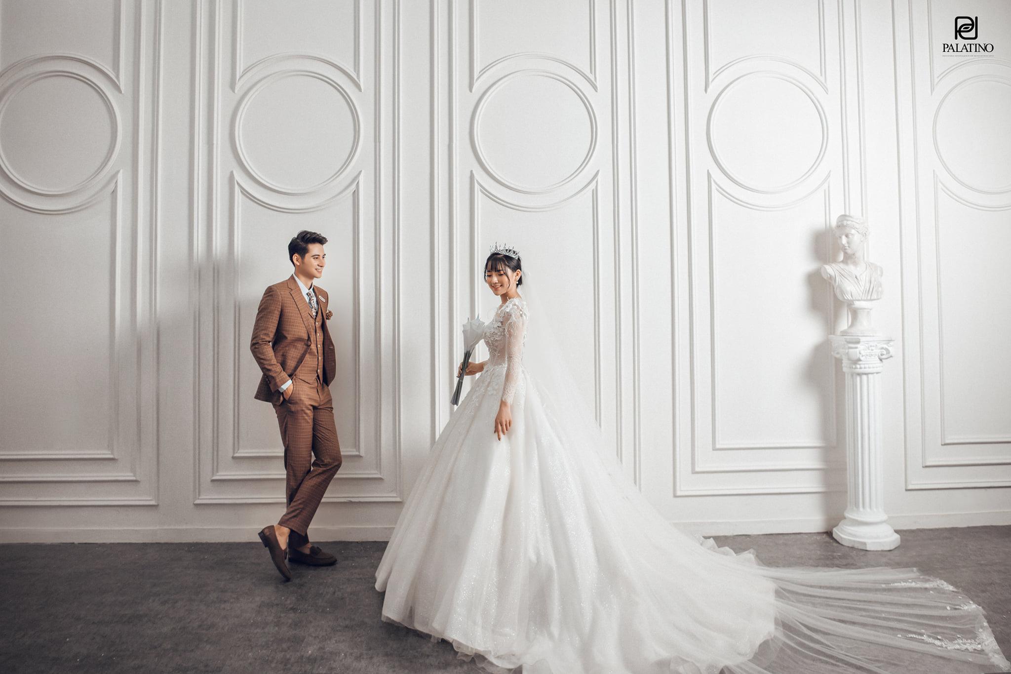 Chụp ảnh cưới trong Studio Hàn Quốc