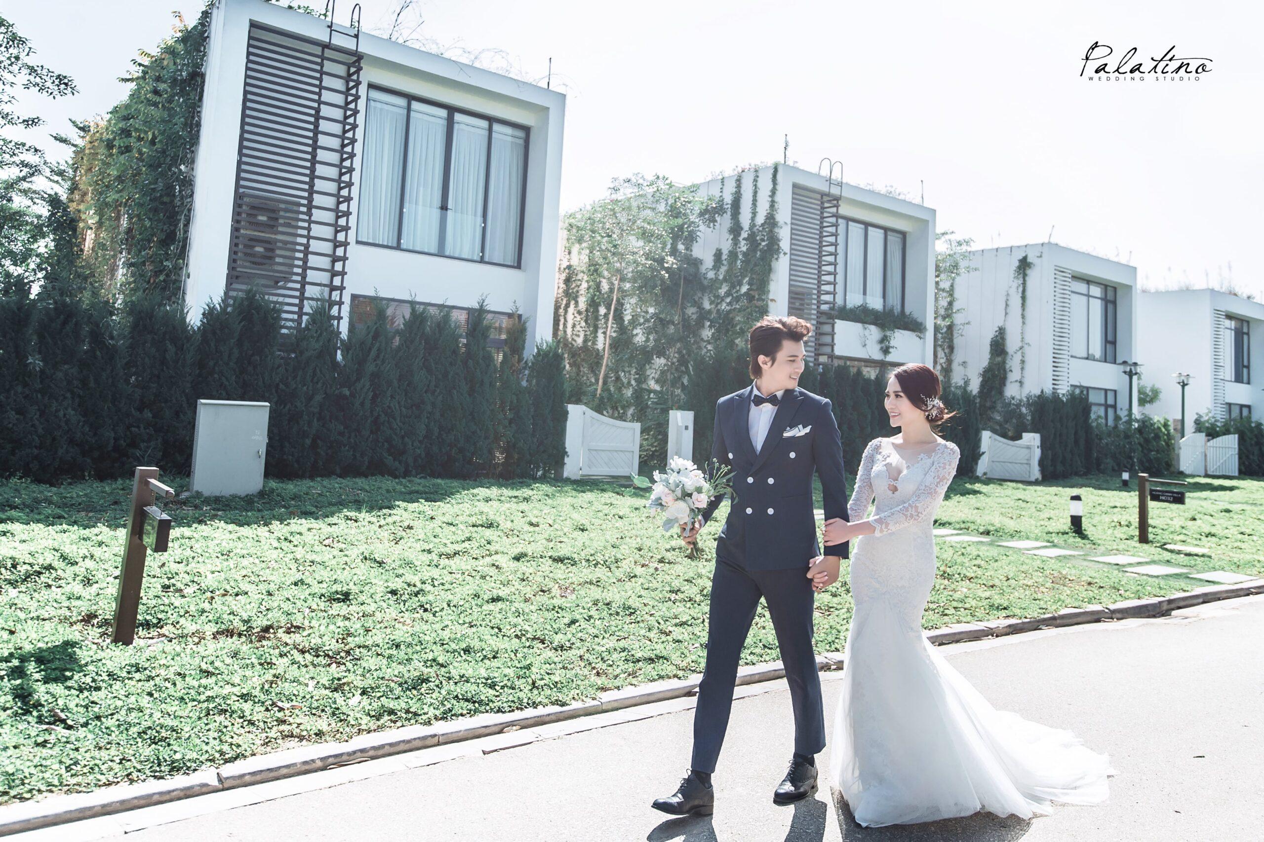 Chụp ảnh cưới kiểu hàn quốc