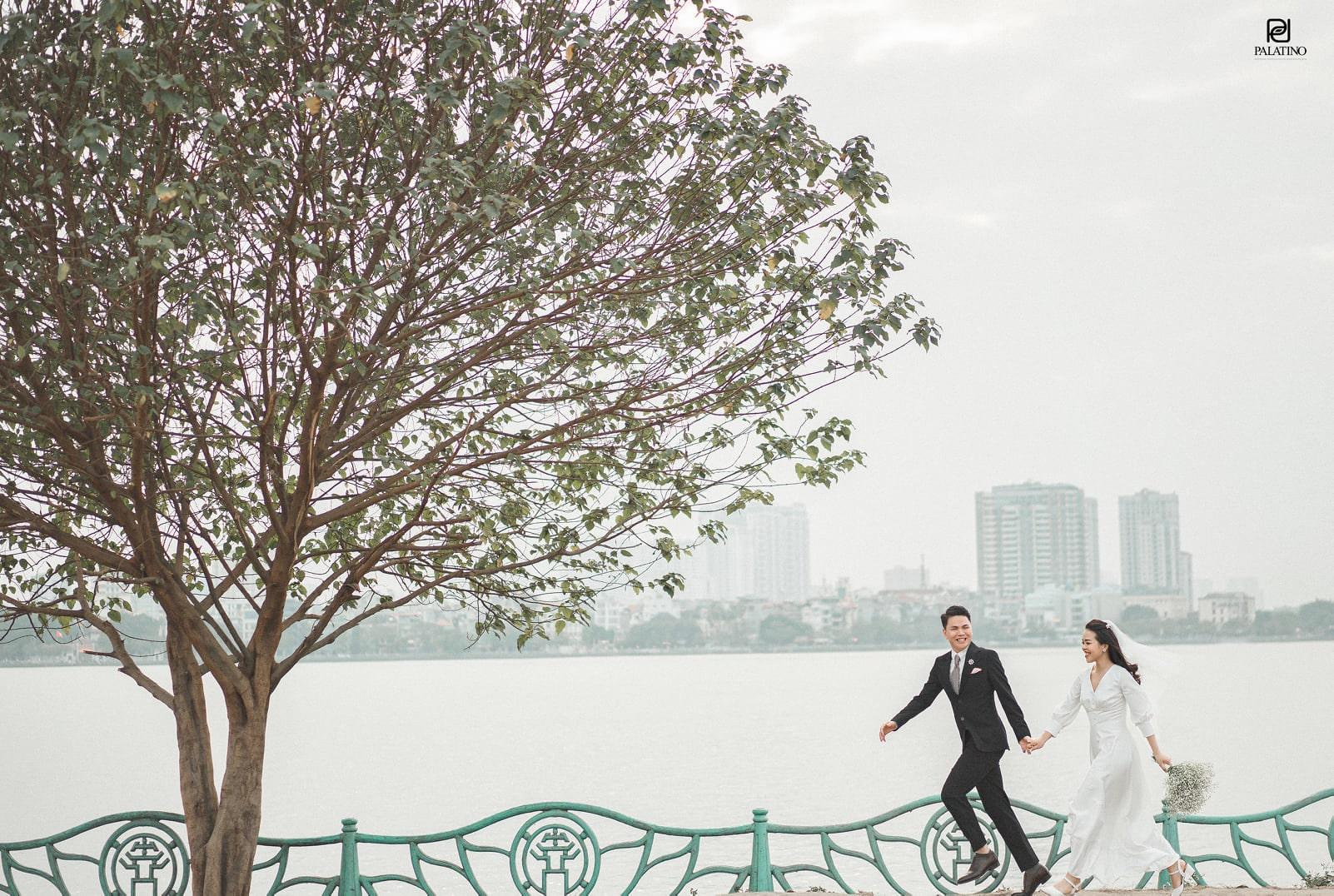 Chụp ảnh cưới phong cách tự nhiên