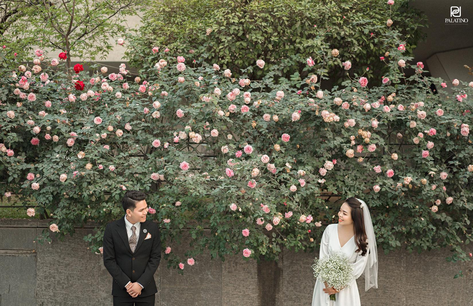 chụp ảnh cưới tại hồ tây