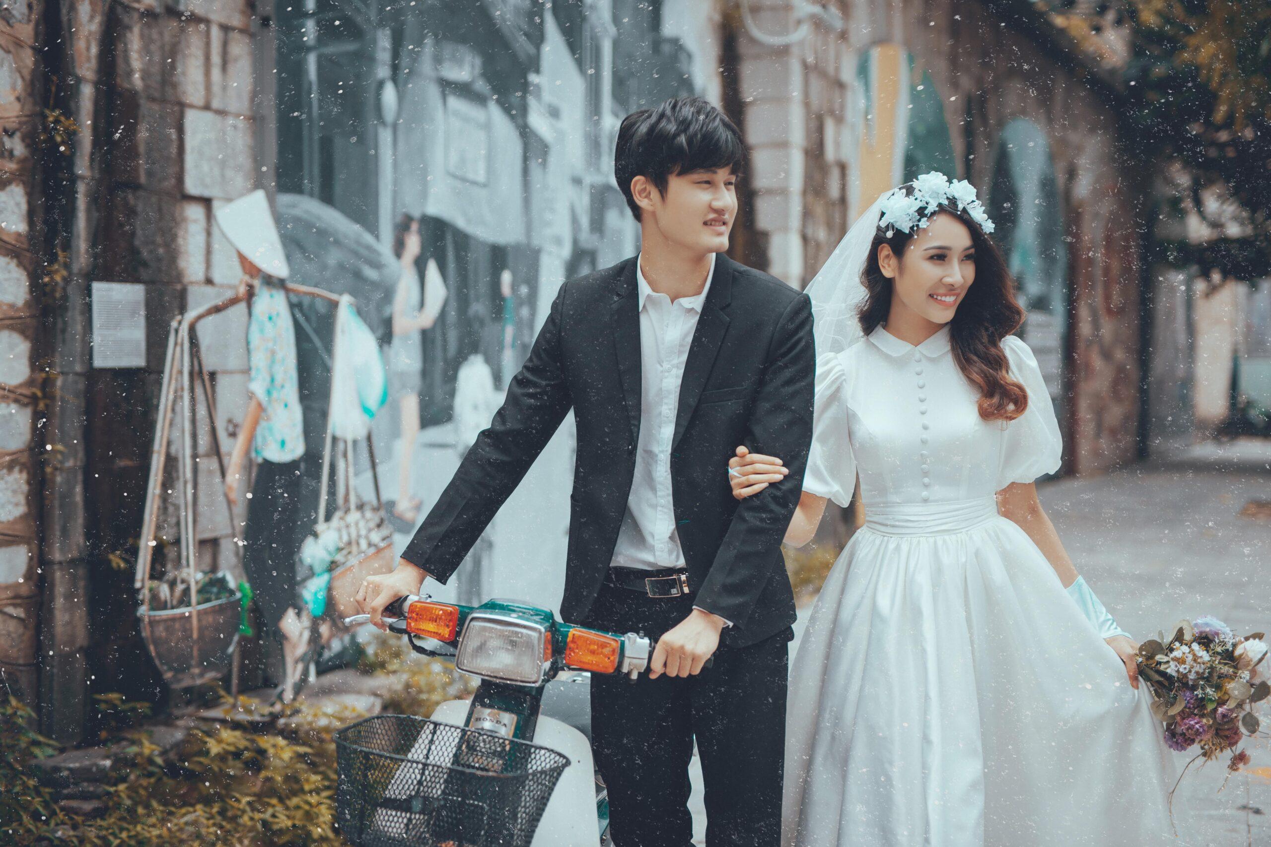 chụp ảnh cưới phố cổ hà nội