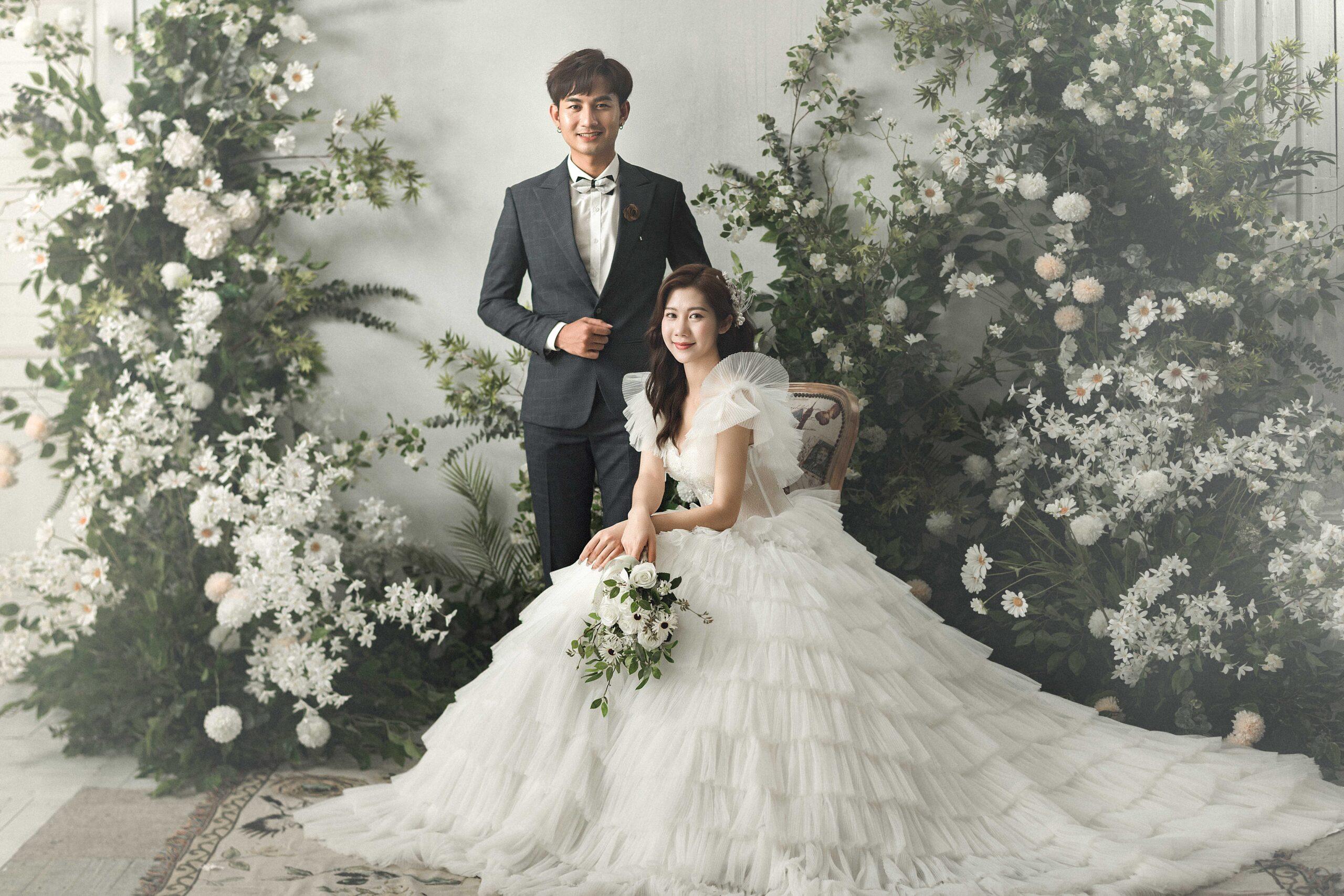 Chụp ảnh cưới phong cách Hàn Quốc