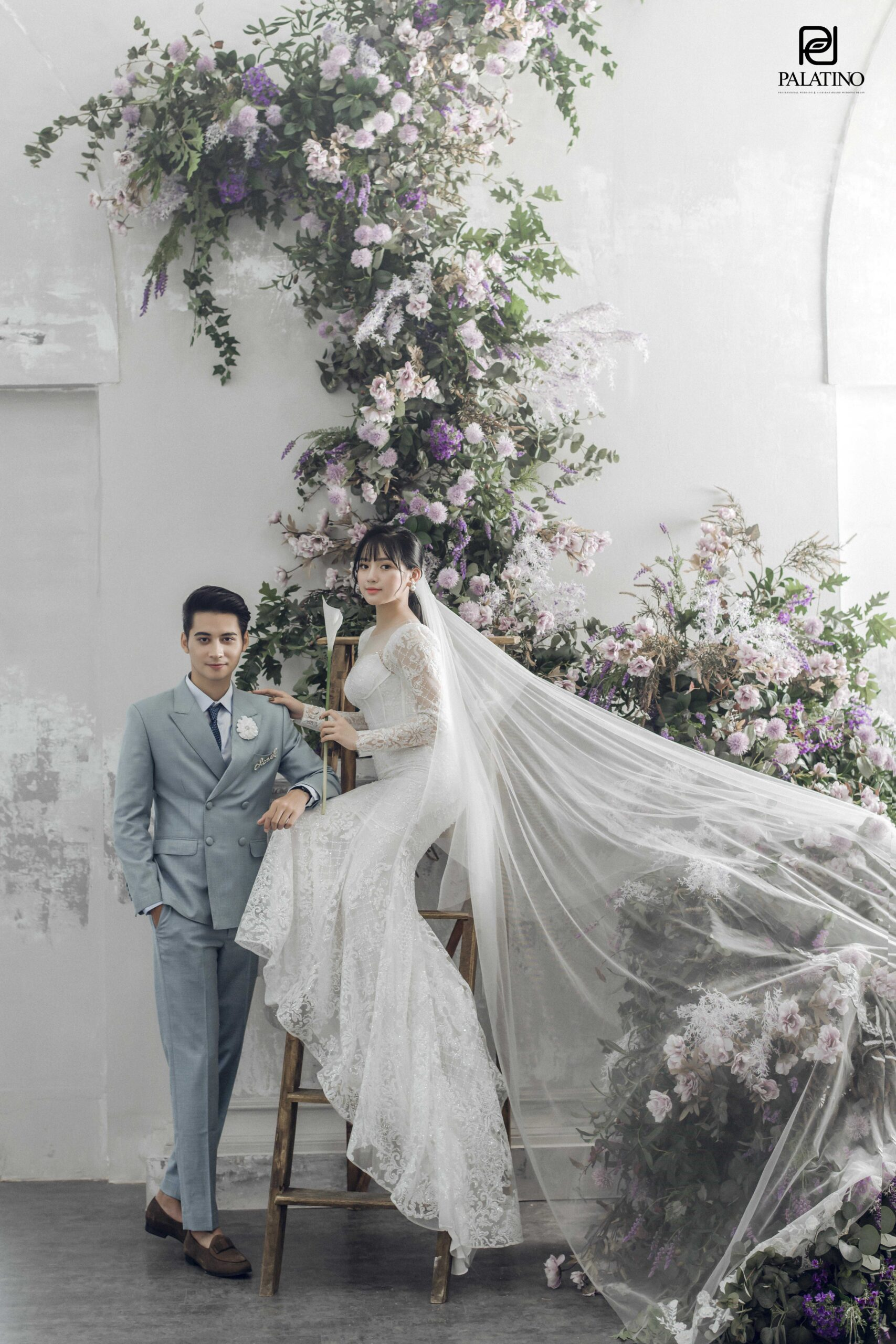 Chụp ảnh cưới tại phim trường 5 garden