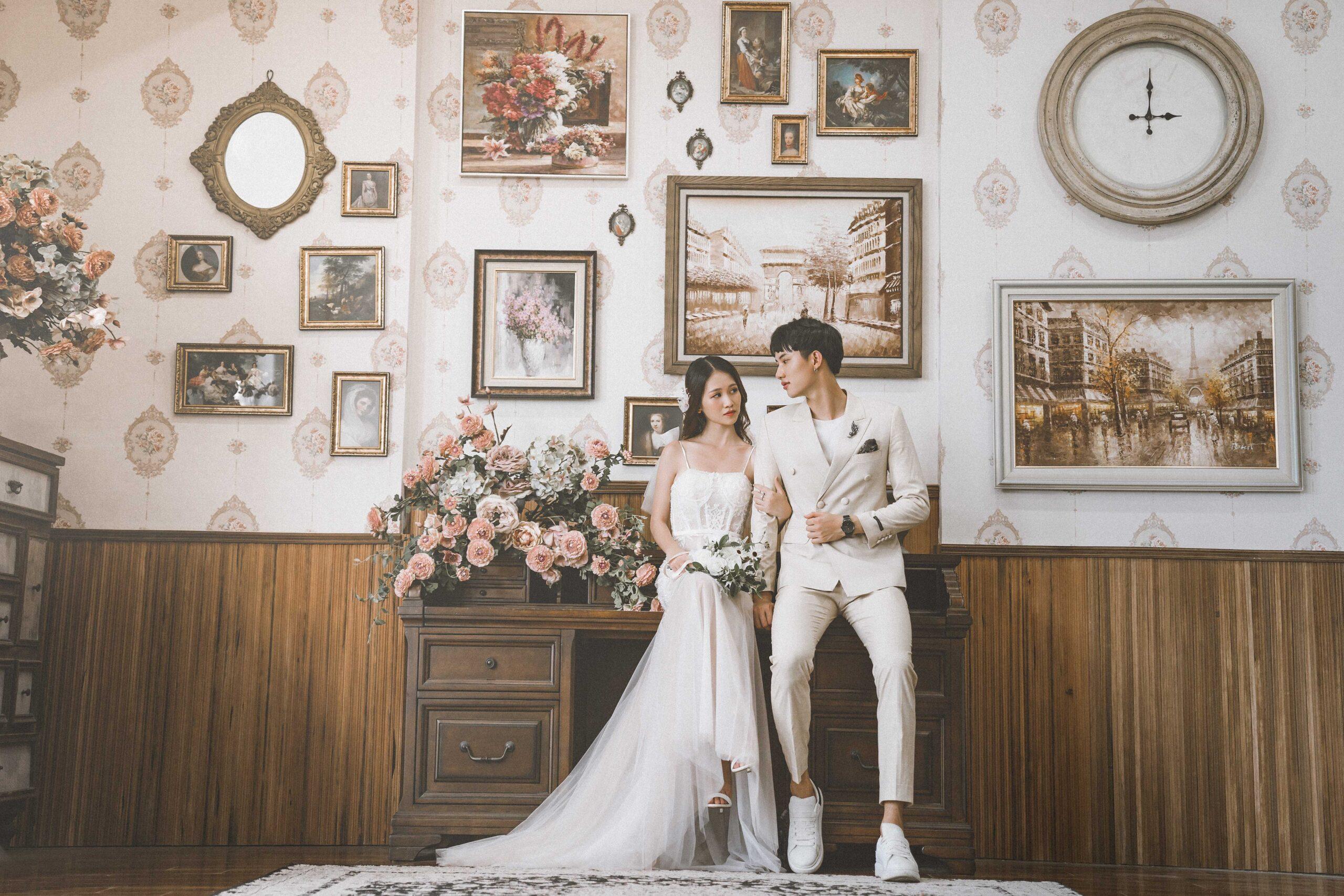 Gói chụp ảnh cưới phim trường