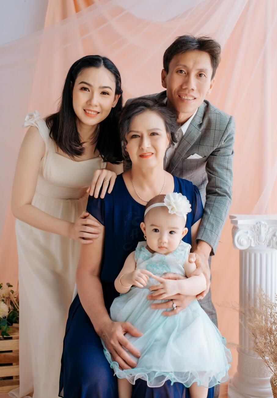 Địa điểm chụp ảnh gia đình kiểu Hàn Quốc
