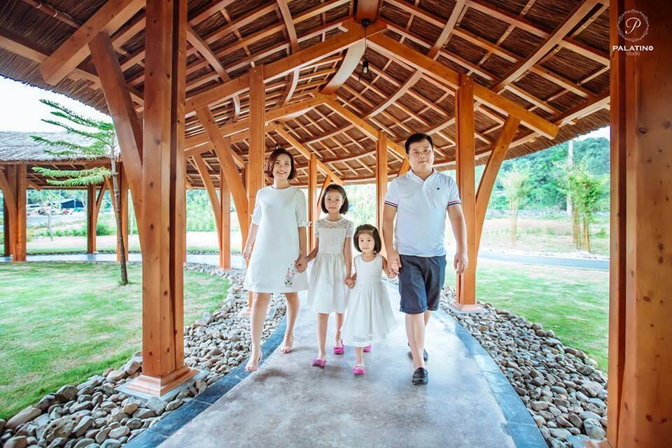 Địa điểm chụp ảnh gia đình đẹp tại Hà Nội - Palatino Studio