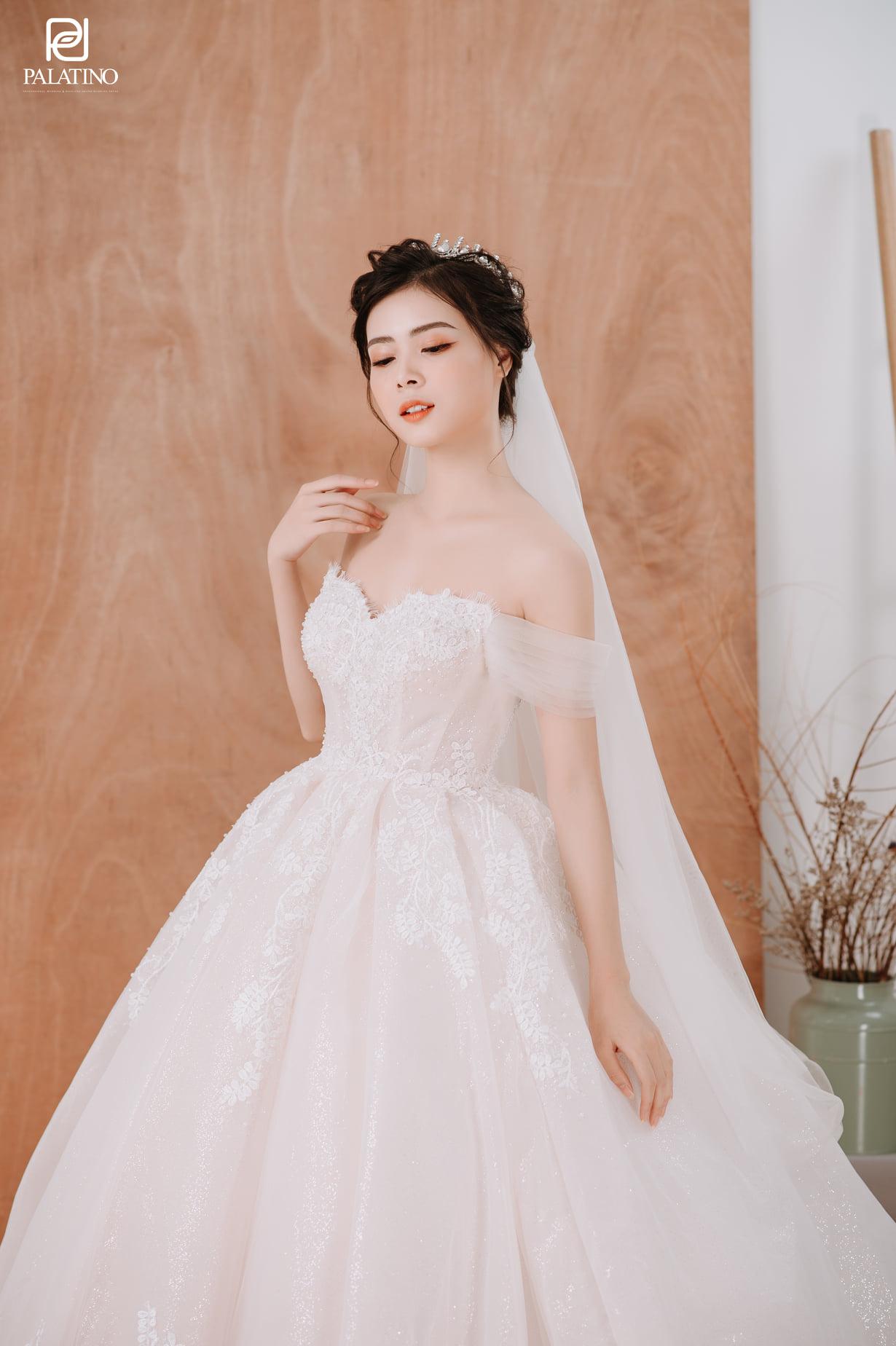 20+ Mẫu váy cưới cho cô dâu gầy ốm siêu xinh